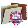 Smead® Extra-Heavy Recycled End Tab Classification Folders With SafeSHIELD® Coated Fasteners | www.SelectOfficeProducts.com
