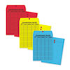 Quality Park™ Colored Paper String & Button Interoffice Envelope | www.SelectOfficeProducts.com