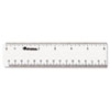 Universal® Clear Plastic Ruler | www.SelectOfficeProducts.com