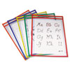 C-Line® Reusable Dry Erase Pockets | www.SelectOfficeProducts.com