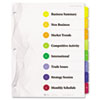 Avery® Designer Ready Index® Dividers | www.SelectOfficeProducts.com