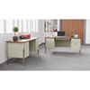 Alera® Double Pedestal Steel Desk   www.SelectOfficeProducts.com