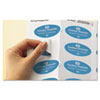 Avery® Oval Easy Peel® Labels | www.SelectOfficeProducts.com