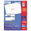 Avery® Desktop Postal Center™ 3-Part Mailing Labels | www.SelectOfficeProducts.com