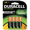 Duracell® Rechargeable NiMH Batteries with Duralock Power Preserve™ Technology | www.SelectOfficeProducts.com