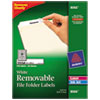 Avery® Removable File Folder Labels | www.SelectOfficeProducts.com