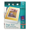 Avery® Heavyweight Three-Hole Punched Clear Sheet Protector | www.SelectOfficeProducts.com