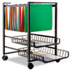 Advantus® Mobile File Cart with Sliding Baskets | www.SelectOfficeProducts.com