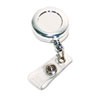 Advantus® Chrome Retractable ID Card Reel | www.SelectOfficeProducts.com