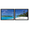 "Advantus® ""Success-Two Picture"" Framed Motivational Prints 