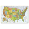 Rand McNally M-Series Deluxe Wall Maps | www.SelectOfficeProducts.com