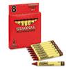 Crayola® Staonal® Marking Crayons   www.SelectOfficeProducts.com