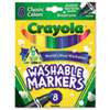 Crayola® Classic Colors Washable Marker | www.SelectOfficeProducts.com