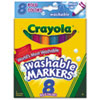 Crayola® Bold Colors Washable Marker | www.SelectOfficeProducts.com