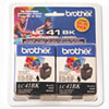 Brother® LC41BK2PKS Inkjet Cartridge | www.SelectOfficeProducts.com