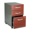 Bush® Series C Three-Drawer Mobile Pedestal File | www.SelectOfficeProducts.com