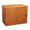 basyx® BL Laminate Series Two-Drawer Lateral File Pedestal | www.SelectOfficeProducts.com
