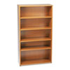 basyx® Five-Shelf Bookcase, Laminate   www.SelectOfficeProducts.com