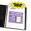 C-Line® Super Capacity Sheet Protector with Tuck-In Flap | www.SelectOfficeProducts.com