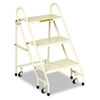 Cramer® Steel Folding Three-Step Ladder | www.SelectOfficeProducts.com