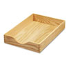 Carver™ Hardwood Stackable Desk Trays | www.SelectOfficeProducts.com