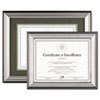 DAX® Charcoal/Nickel-Tone Document Frame | www.SelectOfficeProducts.com