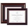DAX® Two-Tone Rosewood/Black Document Frame | www.SelectOfficeProducts.com