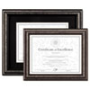 DAX® Antique Brushed Charcoal Wood Document Frame | www.SelectOfficeProducts.com