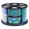 deflect-o® Carousel Organizers   www.SelectOfficeProducts.com