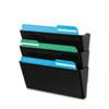 deflect-o® DocuPocket® Stackable Three-Pocket Wall Set | www.SelectOfficeProducts.com