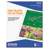 Epson® High Quality Inkjet Paper | www.SelectOfficeProducts.com