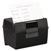 Oxford® Plastic Index Card File | www.SelectOfficeProducts.com