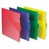 Pendaflex® Colored Poly Outguides with Center Tab | www.SelectOfficeProducts.com
