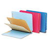 Pendaflex® Colored Pressboard End Tab Classification Folders | www.SelectOfficeProducts.com