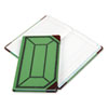 Boorum & Pease® Record and Account Book with Green and Red Cover | www.SelectOfficeProducts.com