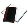 Boorum & Pease® Record and Account Book with Black and Red Cover | www.SelectOfficeProducts.com