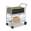 Fellowes® Wire Mail Cart | www.SelectOfficeProducts.com