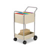 Fellowes® Steel Mail Cart | www.SelectOfficeProducts.com