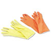 Boardwalk® Flock-Lined Latex Cleaning Gloves | www.SelectOfficeProducts.com