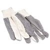 Boardwalk® Men's PVC Dotted Canvas Gloves | www.SelectOfficeProducts.com