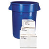 "Low-Density Can Liners, 33"" x 39"", 33 Gal, Black"
