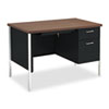 HON® 34000 Series Single Pedestal Desk | www.SelectOfficeProducts.com