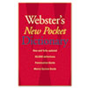 Houghton Mifflin Webster's New Pocket Dictionary | www.SelectOfficeProducts.com