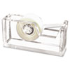 Kantek Clear Acrylic Tape Dispenser | www.SelectOfficeProducts.com