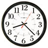 Howard Miller® Alton Auto Daylight Savings™ Wall Clock | www.SelectOfficeProducts.com