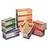 MMF Industries™ Pack 'N Ship Coin Transport Boxes | www.SelectOfficeProducts.com