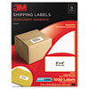 3M Permanent Adhesive White Mailing Labels | www.SelectOfficeProducts.com