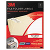 3M Permanent Adhesive Filing Labels | www.SelectOfficeProducts.com