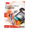 3M Transparency Film for Laser Copiers | www.SelectOfficeProducts.com