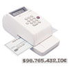 Max® Electronic Checkwriter | www.SelectOfficeProducts.com